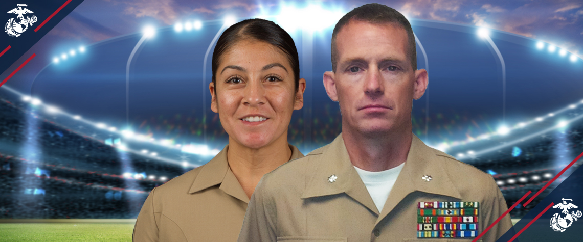 Marine Corps Announces 2017 Athletes of the Year