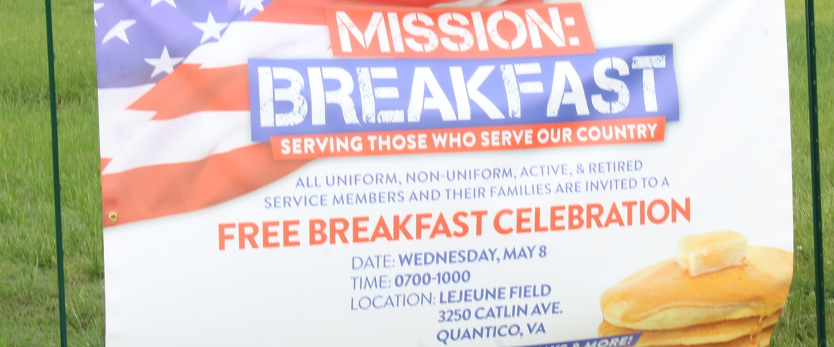 "Smucker's Hosts ""Mission: Breakfast"" at Quantico"